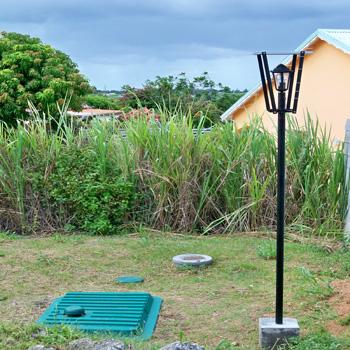 Eclairage solaire de jardin en guadeloupe eclairage solaire clairage solaire de jardin for Eclairage jardin autonome